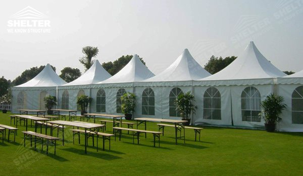 SHELTER Pagoda Tent - Canopy Tent - Gazebo Tents - High Peak Marquee - Top Marquees (7)