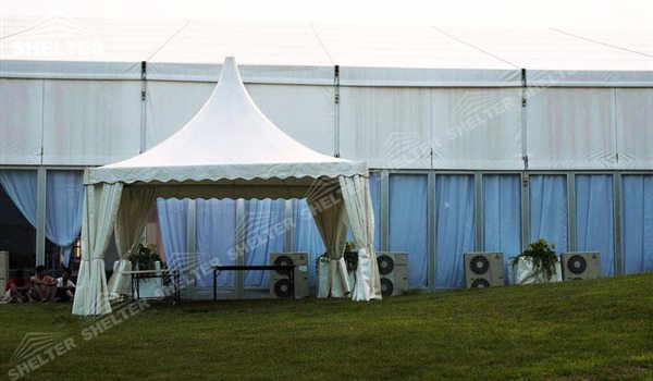 SHELTER Pagoda Tent - Top Marquee - Chinese Hat Tents - Pinnacle Marquees -10
