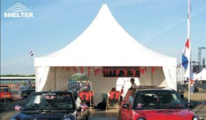 SHELTER Pagoda Tent - Top Marquee - Chinese Hat Tents - Pinnacle Marquees -17
