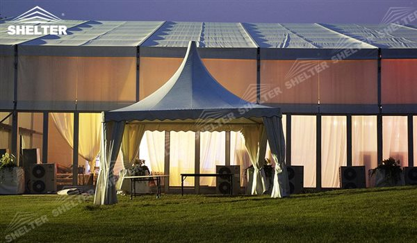 SHELTER Pagoda Tent - Top Marquee - Chinese Hat Tents - Pinnacle Marquees -2