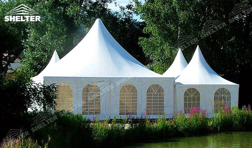 SHELTER Pagoda Tent - Top Marquee - Chinese Hat Tents - Pinnacle Marquees -4