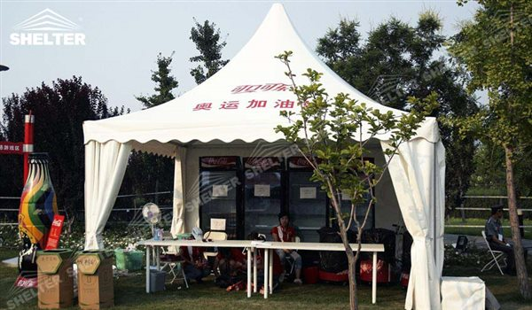 SHELTER Pagoda Tent - Top Marquee - Chinese Hat Tents - Pinnacle Marquees -6