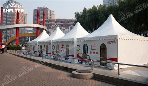 SHELTER Pagoda Tent - Top Marquee - Chinese Hat Tents - Pinnacle Marquees -7