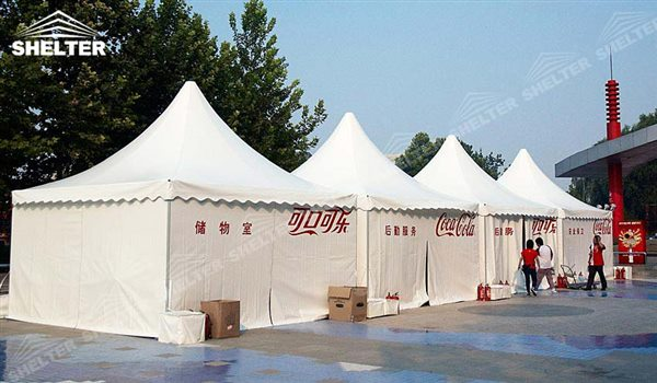 SHELTER Pagoda Tent - Top Marquee - Chinese Hat Tents - Pinnacle Marquees -8