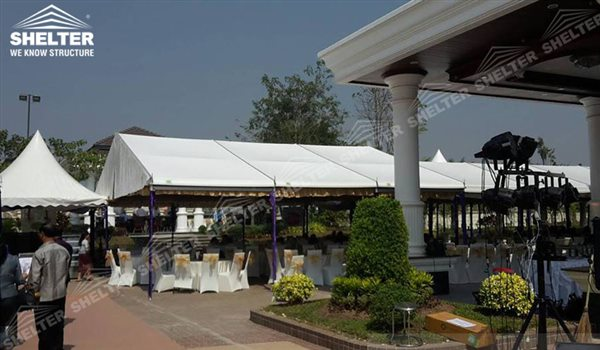 Shelter Canopy Tent - Party tent for sale-party marquee 6x9m white tent-pvc tent for private party 01