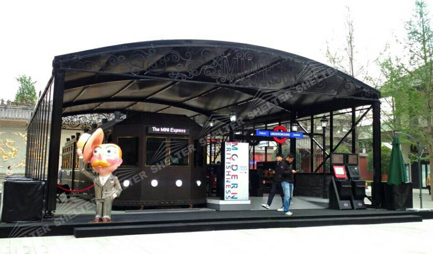 custom design tents - bespoke tent - shelter custom designed marquee - promotion marquees for sale (1)