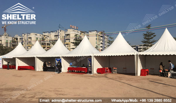 Clear Span Structure - Gala Tent - Festival Tent - Event Marquee - Party Tent for Sale - High Peak Tent - Gazebo Canopy - Commercial Tent - Shelter Tent (4)