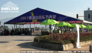 Shelter Festival Marquees in New Year Celebrations 2017