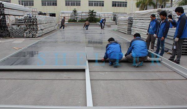 Cassette Floor - Shelter Structures