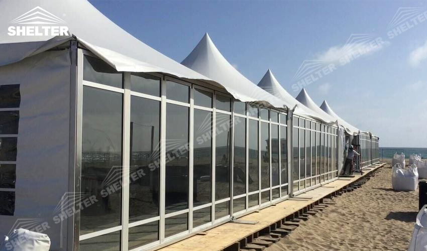 SHELTER Canopy Tents - Sports Gazebo Tent - High Peak Marquee - Top Marquees for Sale -3