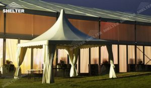 SHELTER Pagoda Tent - Top Marquee - Chinese Hat Tents - Pinnacle Marquees -1