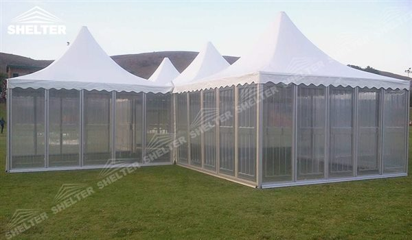 SHELTER Pagoda Tent - Top Marquee - Chinese Hat Tents - Pinnacle Marquees -16