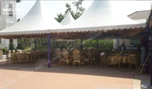 Shelter Canopy Tent - Party tent for sale-party marquee 6x6m white tent-pvc tent for private party 01