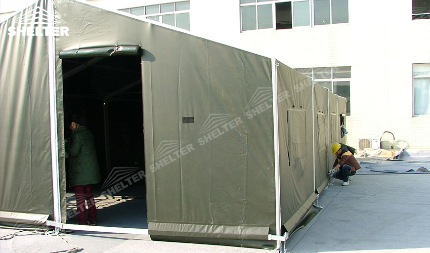 military tent - army tents - Military camp marquee - Shelter army camp marquees (4)