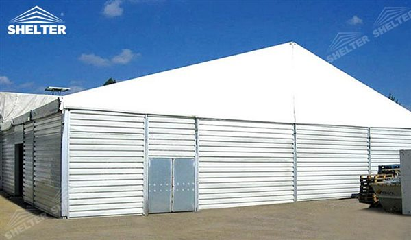SHELTER Large Warehouse Tent - Temporary Storage Tents - Clear Span Building for Sale -38