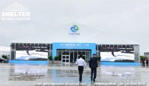 Zhenjiang International Low Carbon Expo'17 in Shelter Expo Marquees
