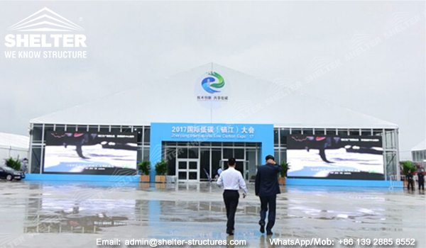 50m Span Expo Marquees for Sale - Our Exhibition Marquee Structures - Large Event Tents for Expo - Shelter Tent (4)